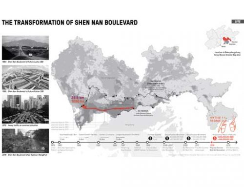 The Transformation of Shen Nan Boulevard