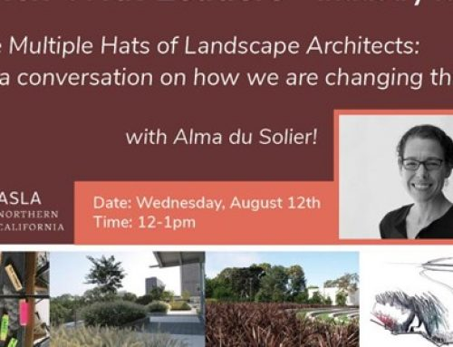 The Multiple Hats of a Landscape Architect